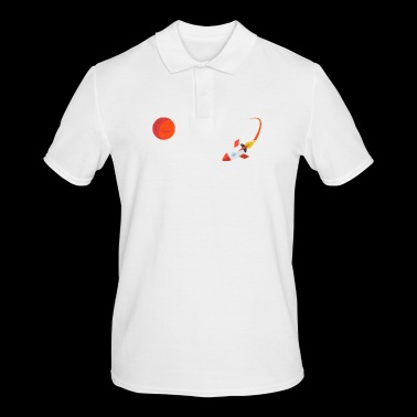 Occupy Mars Planet Space - Men's Polo Shirt