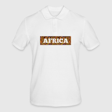 afrika - Poloskjorte for menn
