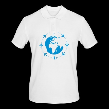 World Travel - Men's Polo Shirt