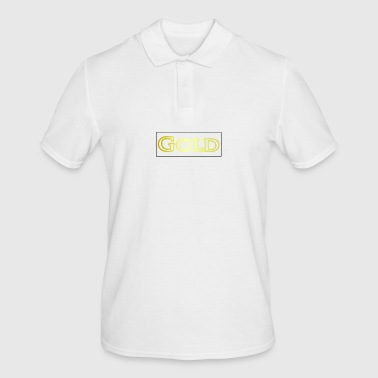 gold - Men's Polo Shirt