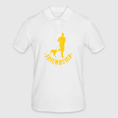 Friendship Friendship dog human - Men's Polo Shirt