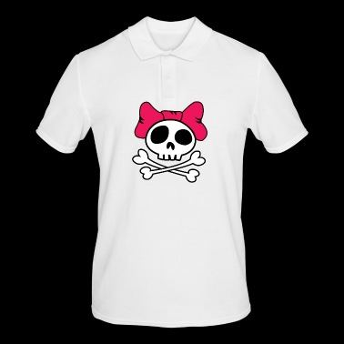 Girly skull - Men's Polo Shirt