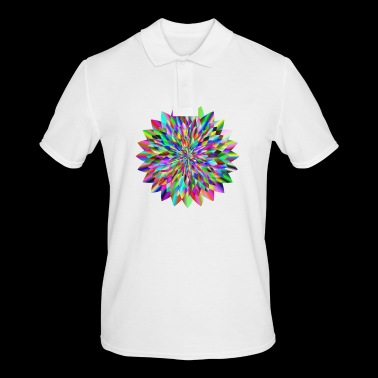 Circular design - Men's Polo Shirt