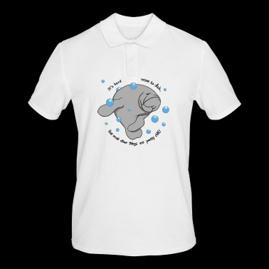 Manatee Dab - Men's Polo Shirt