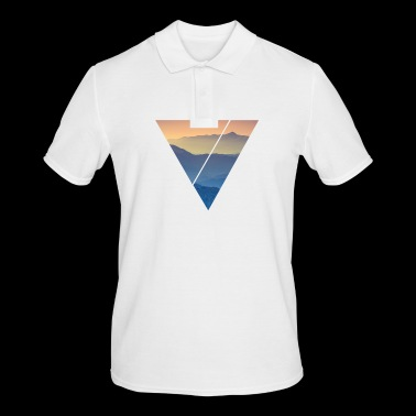Triangle Design Illustration - Polo Homme