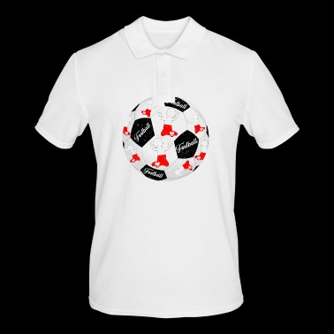 Poland Football Footballer Polska Football Footballer - Men's Polo Shirt
