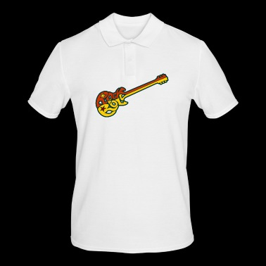 Rock n 'roll guitar - Men's Polo Shirt