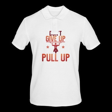 Do not give up pull up - Men's Polo Shirt