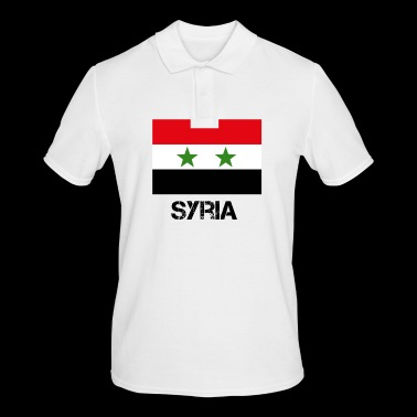 Syria Syria country flag gift idea - Men's Polo Shirt