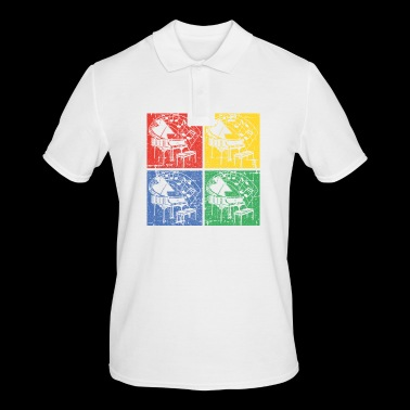 Piano pop art - Men's Polo Shirt