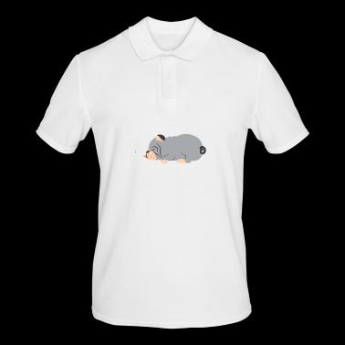 T-shirt smoking pug - Men's Polo Shirt
