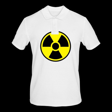 Nuclear Power Symbol - Radioactivity - Men's Polo Shirt