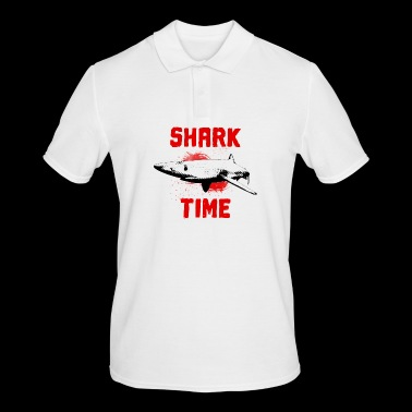 Great white shark fish ocean - Men's Polo Shirt