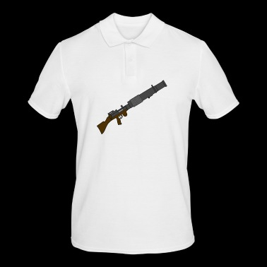 Long blaster - Men's Polo Shirt