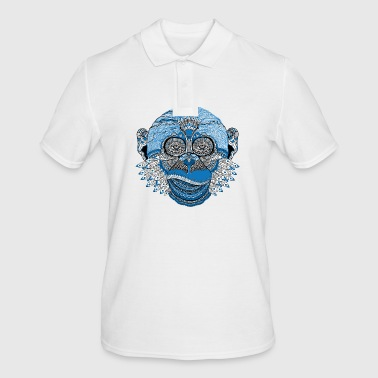 Spiritual monkey - Men's Polo Shirt