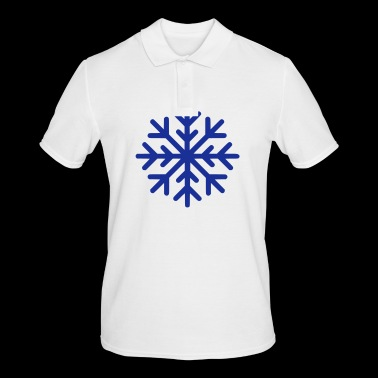 SNOWFLAKE - Men's Polo Shirt