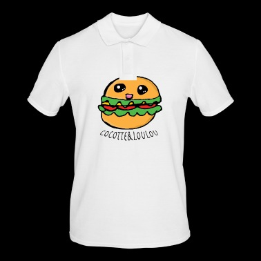 Hamburger Kawaii - Polo Homme