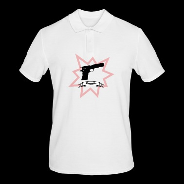 Gun with boom! - Men's Polo Shirt