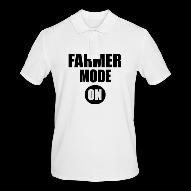 farmer mode on - Men's Polo Shirt