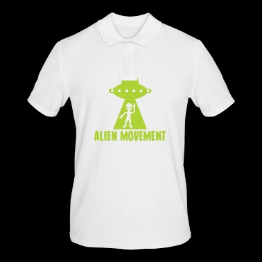 Alien / Area 51 / UFO: Alien Movement - Mannen poloshirt