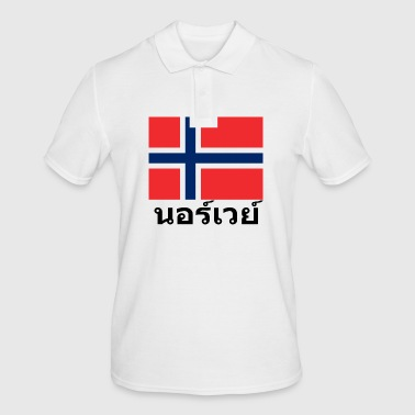 Norway in Thai - Men's Polo Shirt
