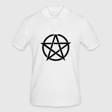 Pentagramme Wicca - Polo Homme