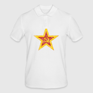 Red Communist Red Star - Men's Polo Shirt