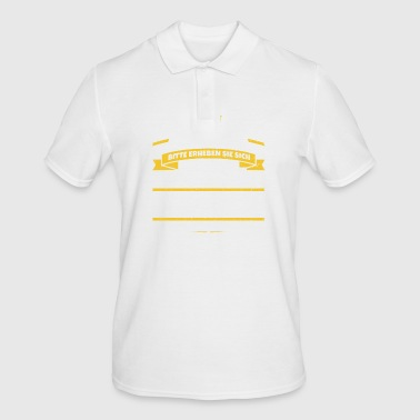 His Majesty Edward - Men's Polo Shirt