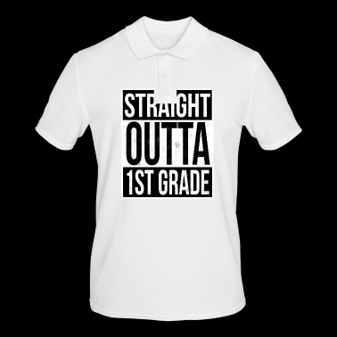 Straight Outta 1 Grade - Men's Polo Shirt