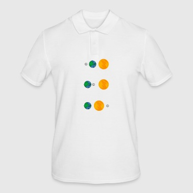 Lunar eclipse Solar eclipse and apocalypse - Men's Polo Shirt