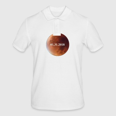 Lunar Eclipse 2018 Lunar Eclipse - Men's Polo Shirt