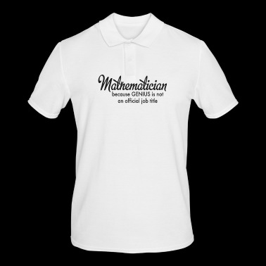 mathematics - Men's Polo Shirt