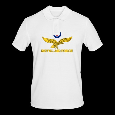 Royal Air Force roundel and eagle gold - Men's Polo Shirt