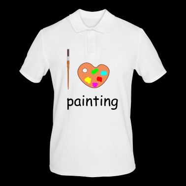 painting - Men's Polo Shirt