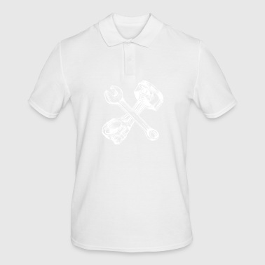 spiked piston - Men's Polo Shirt