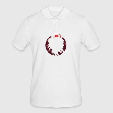 God Jul Vikings Scandinavia Merry Christmas - Men's Polo Shirt