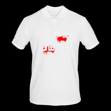Iraq Iran Middle East War Violence Blood Peace - Men's Polo Shirt