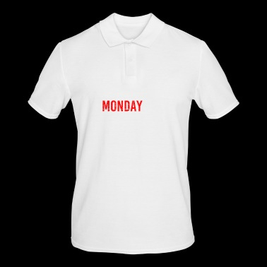 Monday gift idea idea idea - Men's Polo Shirt