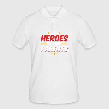 Super Parents / Hero / Parent / Gift - Men's Polo Shirt