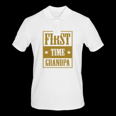 For the first time grandpa - gift - Men's Polo Shirt