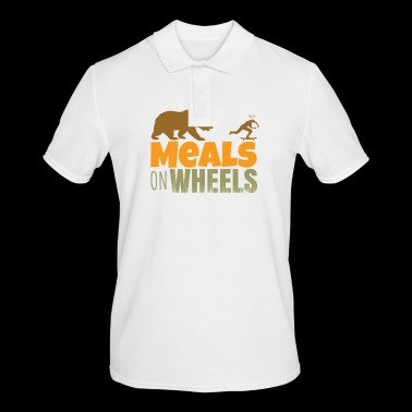 skateboard - meals on wheels - Men's Polo Shirt