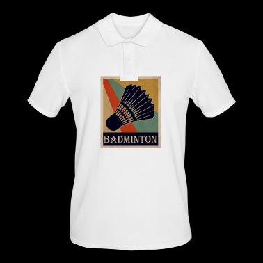 badminton - Men's Polo Shirt