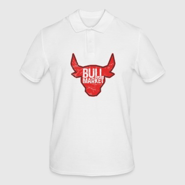 Bulls Market - Finances - Money - Stocks - Stock Market - Men's Polo Shirt