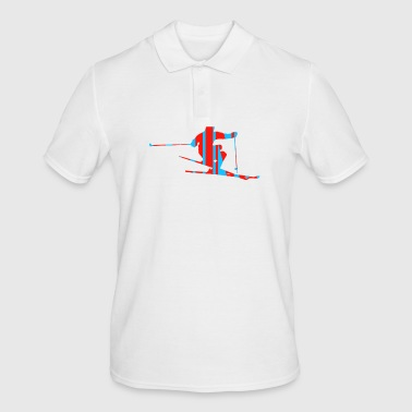 Skiing Gift Ski Resort Ski Freestyle Driver - Men's Polo Shirt