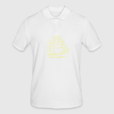 Sailing - sailing - sailing ship - sailboat - Men's Polo Shirt