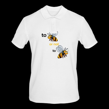 bee or not to bee - Men's Polo Shirt