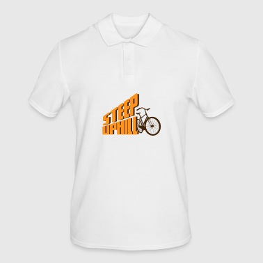Mountain biking, biking, biking, cycling, cycling - Men's Polo Shirt