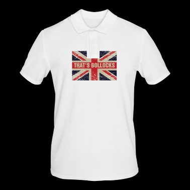 That's bollocks On Britain Flag Funny UK English - Mannen poloshirt