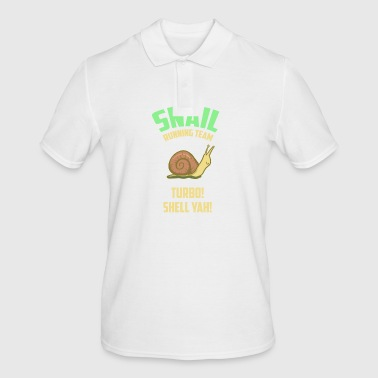 Snail Running Team - Snail - Gift - Men's Polo Shirt