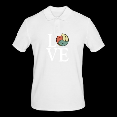 Volleyball Love - Vintage Volleyball Shirt - Men's Polo Shirt